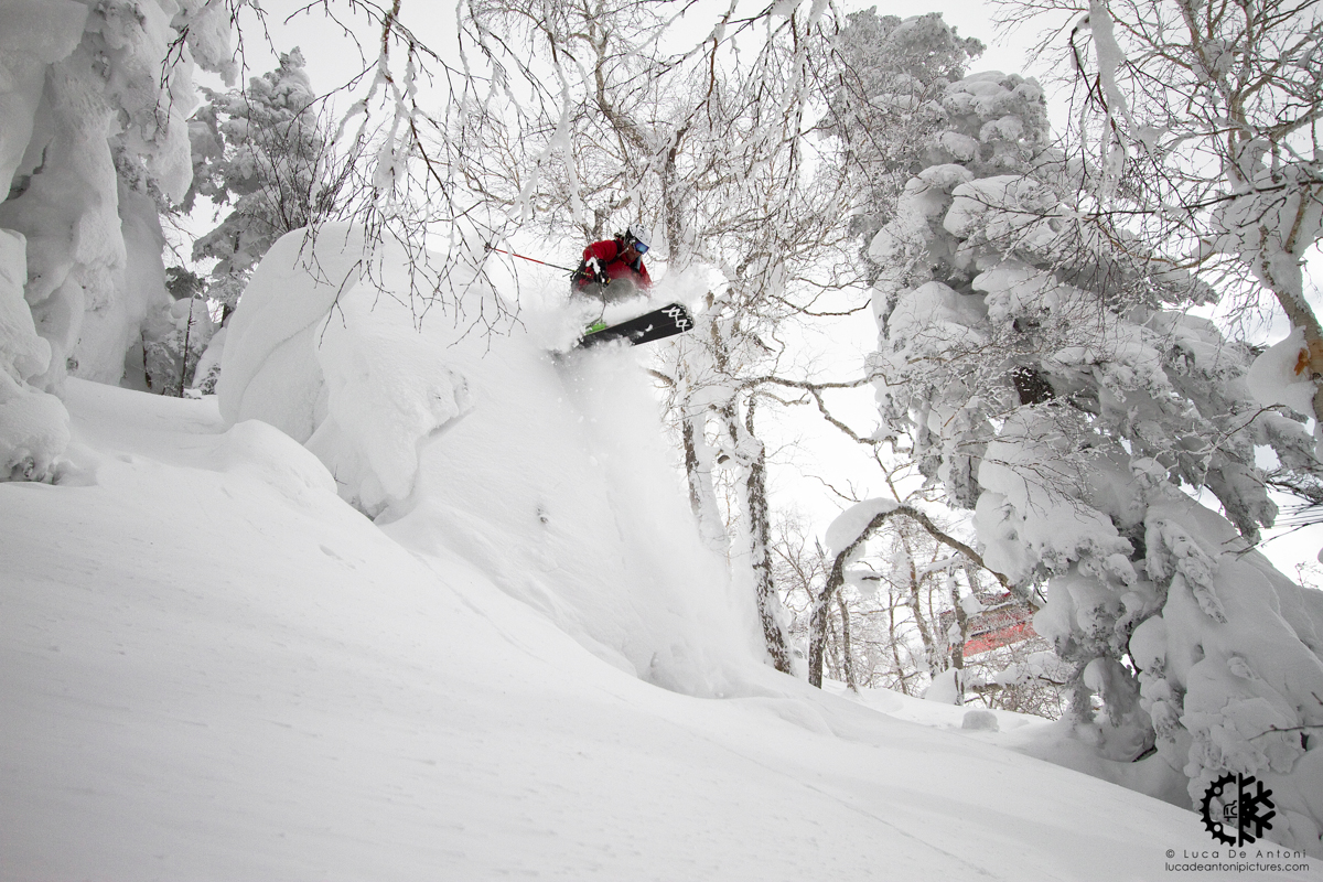 Martino Colonna takes flight in Asahidake