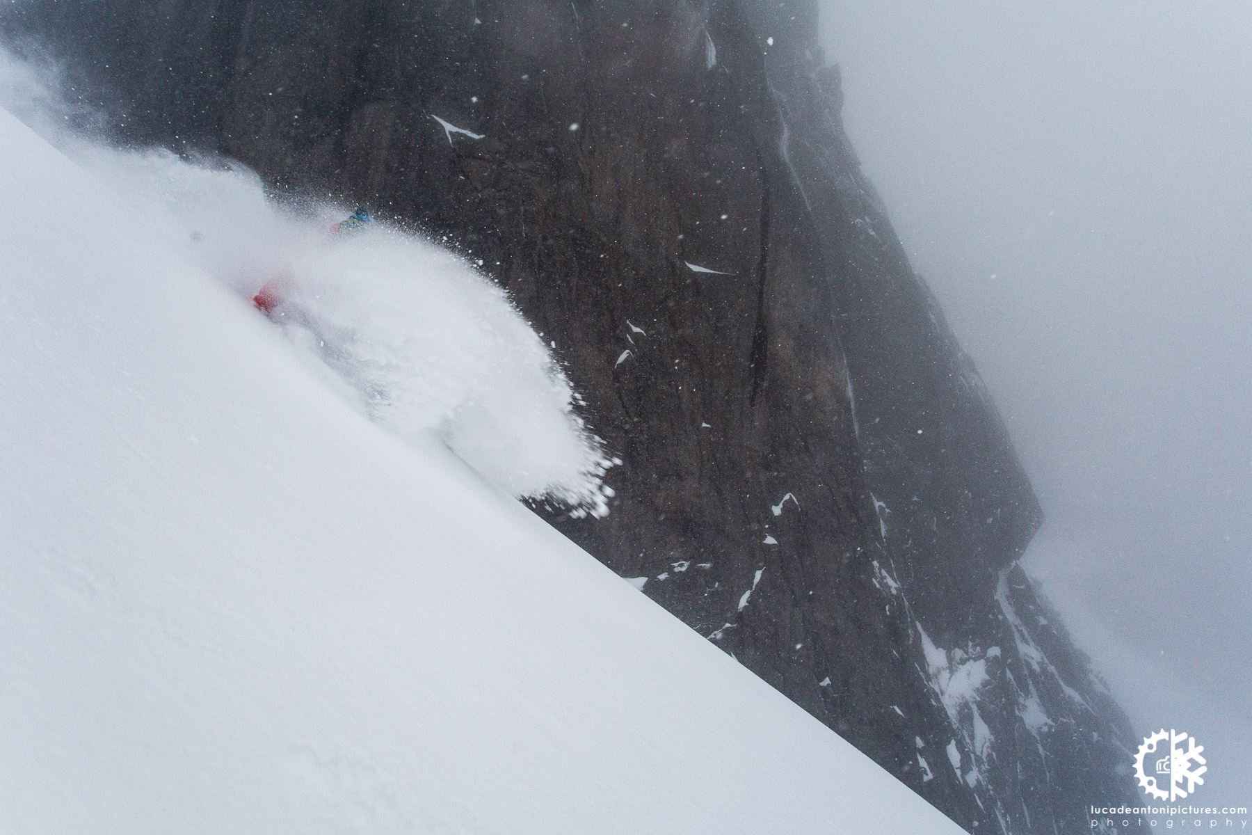 Skier: Denis Soverini - Location: Lofoten