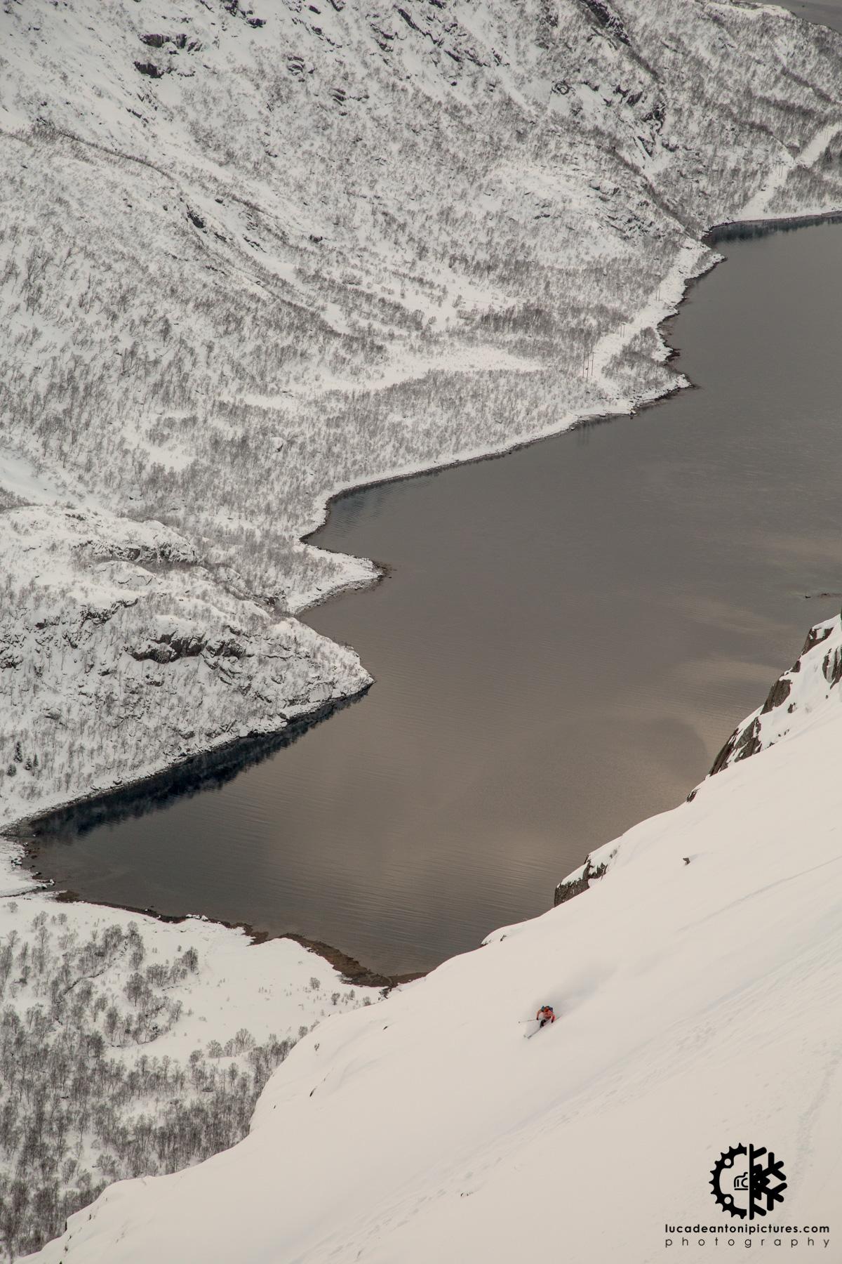 Skier: Denis Soverini - Location: Lofoten